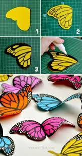 diy dainty origami butterfly tutorial by by