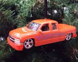 chevy truck ornament etsy