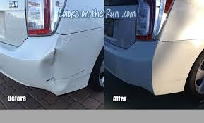 phoenix bumper repair mobile auto paint touch up repaint colors