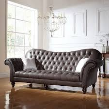 Classic Tufted Sofa Classic Tufted Real Italian Leather Tufted Victorian Sofa Free