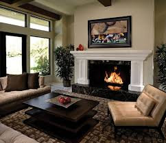 living room modern living room design with fireplace sunroom