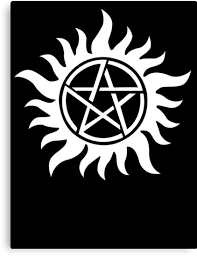 anti possession tattoo symbol white version supernatural