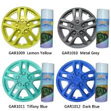 gar peelable rubber coating for car wheel color changed and