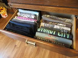 how to fold and organize t shirts bella organizing