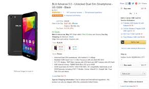 amazon black friday unlocked phone deals deal blu advance 5 0 is just 48 right now android authority