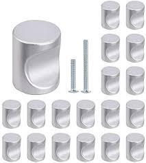 kitchen cabinet door knob screws 30 pack cabinet knobs silver drawer knobs for kitchen