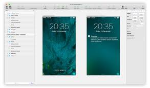 ios 9 lock screen with notification sketch freebie freebie supply