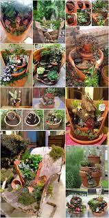best 25 the broken pots ideas on pinterest fairy pots broken broken pots turned into brilliant fairy garden ideas