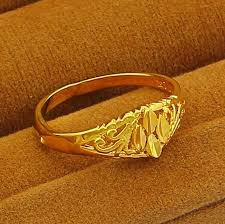 aliexpress buy new arrival fashion 24k gp gold 2018 newfashion 24k gp gold color mens women jewelry ring