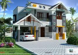 Housedesign 1800sqft Mixed Roof Kerala House Design Kerala House Plans