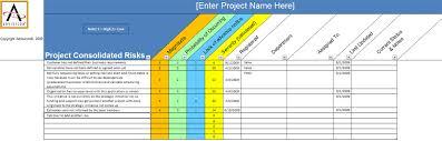 project risk register advisicon