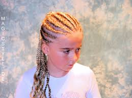 hair style corn rolls rebekka blonde cornrows mit pferdeschwanz blonde corn rows pony