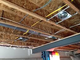 basement finishing installing recessed lighting derek stegelman