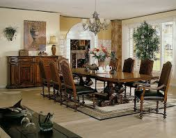 Tuscan Dining Room Dining Room Furniture Interior Design Colorado Style Home