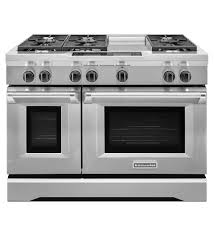 48 Inch Cooktop Gas 48 Inch 6 Burner With Steam Assist Oven Dual Fuel Freestanding