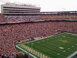 Neyland Stadium Map 203 University Of Tennessee Neyland Stadium Knoxville Tn