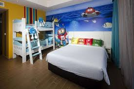 fun and stylish chalets and resorts with themed rooms and more an m m s themed room at d resort photo d resort