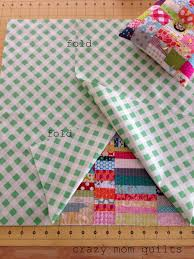 Make An Envelope Crazy Mom Quilts How To Make An Envelope Backed Pillow A Great