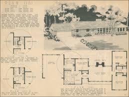 Ranch Style Home Blueprints 1960 Colonial Floor Plans Home Decor Interior Exterior Excellent