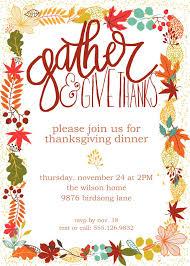 45 thanksgiving luncheon invitation free thanksgiving templates