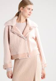 designers remix designers remix candy leather jacket light pink women jackets