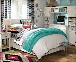 Cream And Pink Bedroom - bedroom girls room decor teens with white pink striped wall and