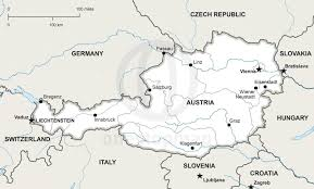 Map Of Austria And Germany by Vector Map Of Austria Political One Stop Map