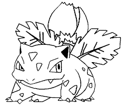 coloring pages pokemon ivysaur drawings pokemon