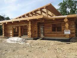 Comment Fabriquer Une Maison En Bois Néologis Construction Fuste Maison Bois Brut Poteau Poutre