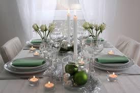 table decoration ideas ideas for christmas table decorations corner decorating