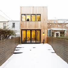brooklyn row house by office of architecture caandesign