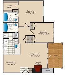Lakeside Floor Plan Floor Plans Lakeside Apartments The Bozzuto Group Bozzuto