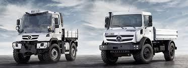 mercedes unimog truck der neue unimog