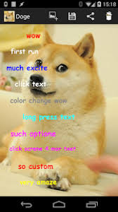 How To Make A Doge Meme - doge meme creator android apps on google play