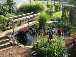 outdoor yard pond ideas with small waterfall yard pond ideas for