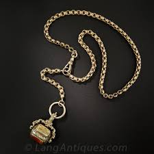 watch chain necklace images Victorian watch chain and fob necklace jpg