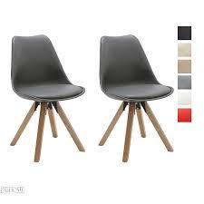 Esszimmerstuhl Bequem Stuhl Esszimmerstühle Küchenstühle 2 Er Set In Grau Küchenstuhl