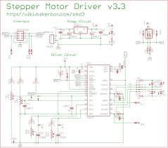 Stepper Motor Driver Wiring Diagram Rampant Robots Stepper Motors And Drivers
