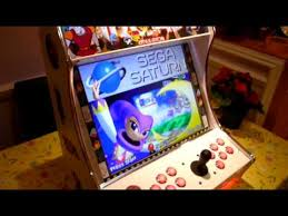 Tabletop Arcade Cabinet Mame Bartop Arcade Machine Cabinet Youtube