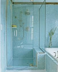 glass tile for bathrooms ideas shimmering glass tile shower bathroom decorating design bathroom