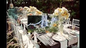 elegant small garden wedding decor ideas youtube