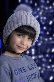 Cute small girl with woolen hat Free stock photos in jpg format for