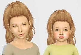 sims 4 kids hair sims 4 hairs simiracle simpliciaty s devonne hair retextured