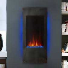 Electric Fireplace Insert Napoleon Azure Wall Mount Electric Fireplace Insert U0026 Reviews