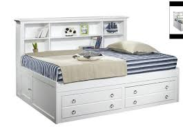 king single victoria ii lounge bed with bookend bedhead u0026 storage