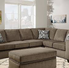 Two Piece Sofa by Grey Textured L Shaped Two Piece Sofa Sectional U2013 All Nations