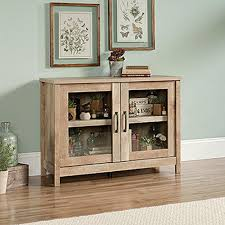 Oak Storage Cabinet Sauder Cannery Bridge Lintel Oak Storage Cabinet 420334 The Home