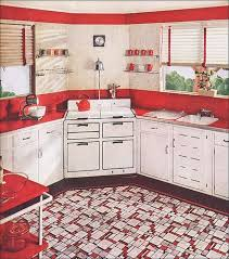 Red Kitchen Accessories Ideas Best 25 Red And White Kitchen Ideas On Pinterest Red Kitchen
