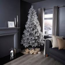 7ft silver tip fir grey silver tip classic christmas tree