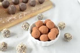 silky dark chocolate truffles